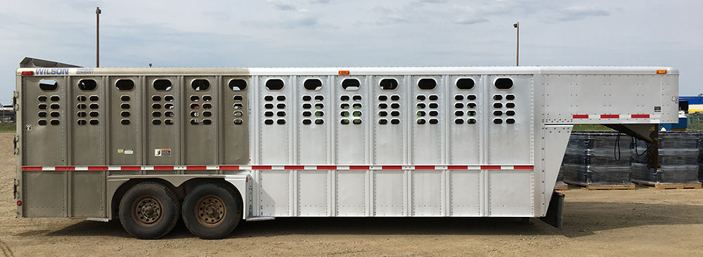 Silver Brite Plus Cattle Trailer