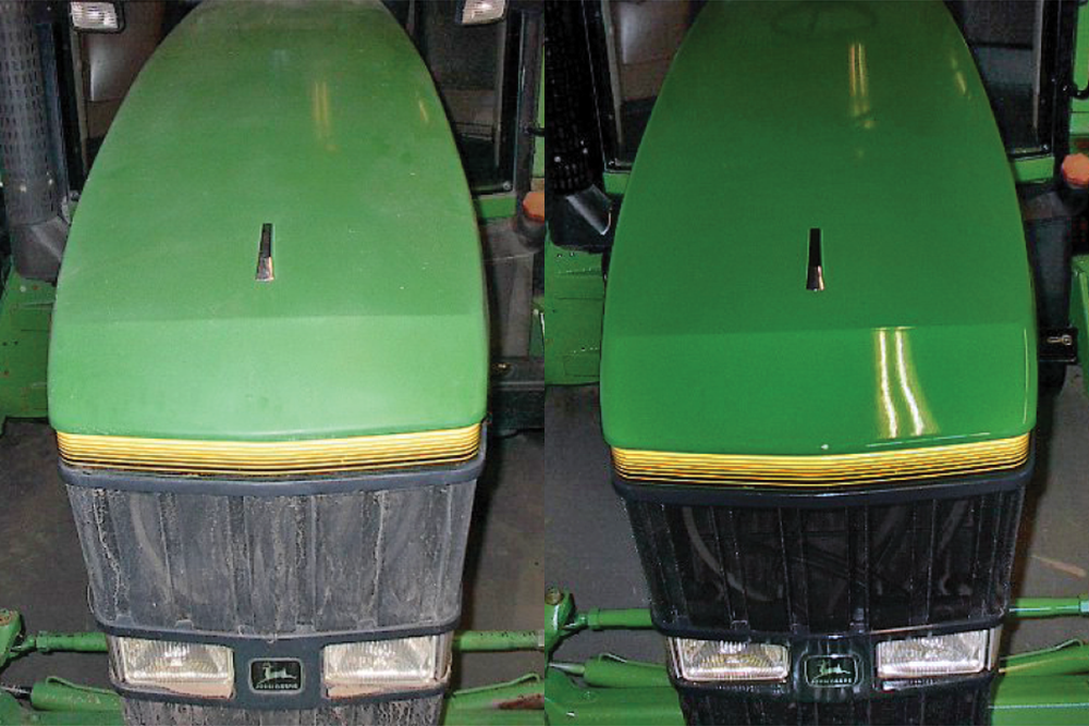 JD Dakota Shine Before and After